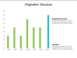 Origination Structure Ppt Powerpoint Presentation Icon Structure Cpb