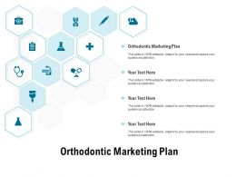Orthodontic Marketing Plan Ppt Powerpoint Presentation Slides Deck