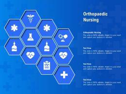 Orthopaedic Nursing Ppt Powerpoint Presentation Infographics Structure