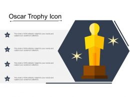 Oscar Trophy Icon