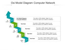 Osi Model Diagram Computer Network Ppt Powerpoint Presentation Infographics Gallery Cpb