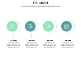 OSI Model Ppt Powerpoint Presentation Pictures Layout Ideas Cpb