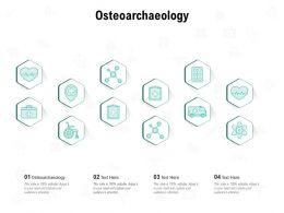 Osteoarchaeology Ppt Powerpoint Presentation Inspiration Smartart