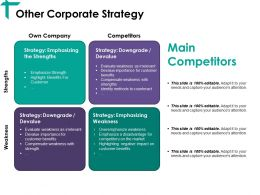 Other Corporate Strategy Ppt Good