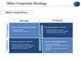 Other Corporate Strategy Ppt Styles Themes