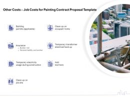 Other Costs Job Costs For Painting Contract Proposal Template Ppt Powerpoint Presentation Show