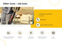 Other Costs Job Costs Ppt Powerpoint Presentation Model Background Images