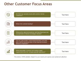 Other Customer Focus Areas Powerpoint Slide Background Designs