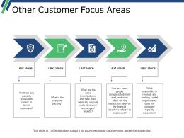 Other Customer Focus Areas Ppt Examples Professional