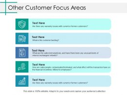 Other Customer Focus Areas Ppt Infographic Template Picture