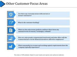 Other Customer Focus Areas Ppt Slide Styles