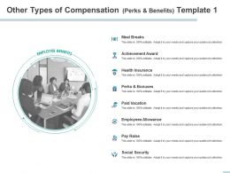 Other Types Of Compensation Perks And Benefits Allowance Powerpoint Presentation Master Slide