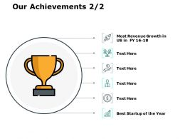 Our Achievements Ppt Powerpoint Presentation File Templates