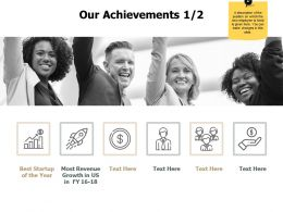 Our Achievements Team J216 Ppt Powerpoint Presentation File Show