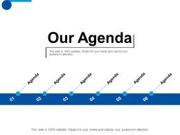 Our Agenda Business Planning Ppt Professional Slide Download