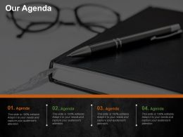 Our Agenda Cost Optimization Strategies Ppt Summary Graphics Download