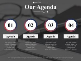 Our Agenda Expertise Matrix Ppt Infographic Template Background Images