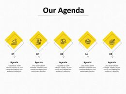 Our Agenda Management L1046 Ppt Powerpoint Presentation Icon