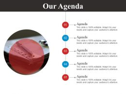 Our Agenda Powerpoint Slide Presentation Guidelines