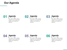 Our Agenda Ppt Professional File Formats