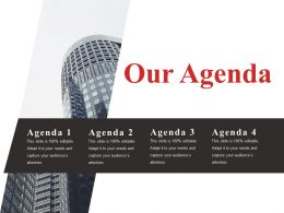 Our Agenda Presentation Outline