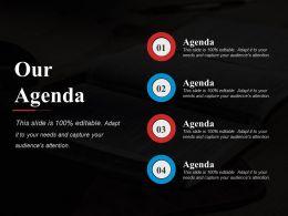Our Agenda Presentation Visuals
