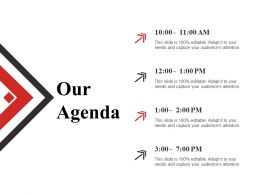 Our Agenda Sample Ppt Files