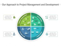 Our Approach To Project Management And Development