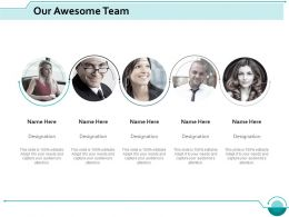 our_awesome_team_introduction_ppt_slides_design_templates_Slide01