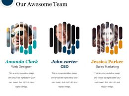 Our Awesome Team Powerpoint Show
