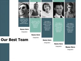 Our Best Team Communication F793 Ppt Powerpoint Presentation Portfolio Shapes