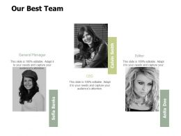 Our Best Team Communication Ppt Powerpoint Presentation File Clipart