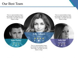 Our Best Team Ppt Templates
