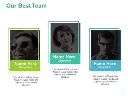 Our Best Team With Three Persons Ppt Icon Slideshow