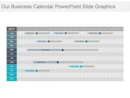 Our Business Calendar Powerpoint Slide Graphics