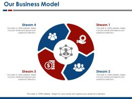 Our Business Model Ppt Infographic Template