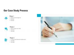 Our Case Study Process Ppt Powerpoint Presentation Infographics Images