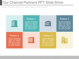 Our Channel Partners Ppt Slide Show
