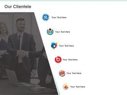 Our Clientele Planning Communication Ppt Powerpoint Presentation Inspiration Background Designs