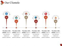 Our Clientele Powerpoint Slide Clipart