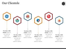 Our Clientele Ppt Summary Styles