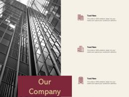 Our Company Management L425 Ppt Powerpoint Presentation Ideas Template