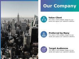 Our Company Ppt Examples Slides