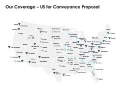 Our Coverage Us For Conveyance Proposal Ppt Powerpoint Presentation Examples