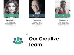 Our Creative Team Communication L434 Ppt Powerpoint Styles