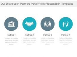 Our Distribution Partners Powerpoint Presentation Templates
