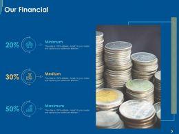 Our Financial Medium Ppt Powerpoint Presentation Pictures Sample