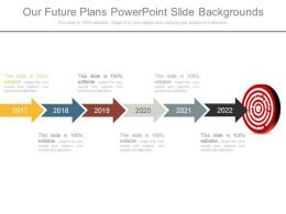 Our Future Plans Powerpoint Slide Backgrounds