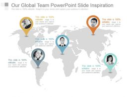 Our Global Team Powerpoint Slide Inspiration