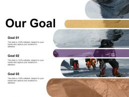 Our Goal 8 Deadly Wastes Ppt Visual Aids Infographics